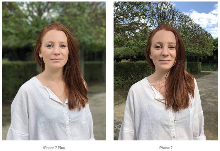 iPhone 7 e 7 Plus - Modo Retrato